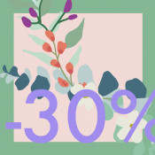 - 30%