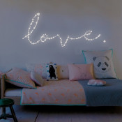 Glows-in-the-dark wall decals